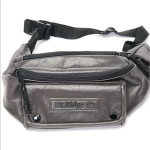 Handbags - Mt. Ridge brown faux leather waist bag fanny pack